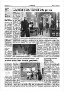 Flugschüler pauken online - Westfalen Blatt berichtet